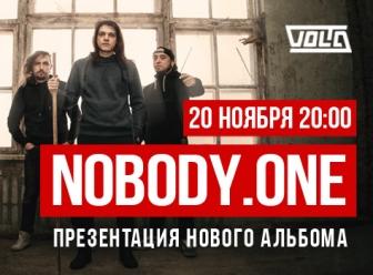 Концерт nobody.one в Москве - 20 ноября 2016 года